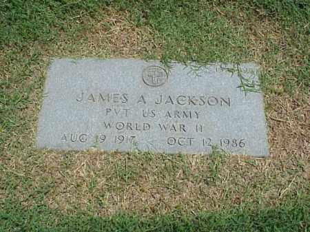 JACKSON (VETERAN WWII), JAMES A - Pulaski County, Arkansas | JAMES A JACKSON (VETERAN WWII) - Arkansas Gravestone Photos