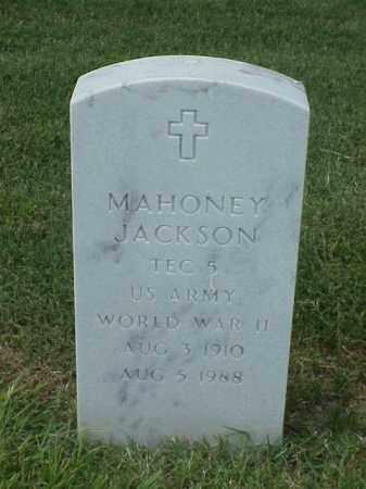 JACKSON (VETERAN WWII), MAHONEY - Pulaski County, Arkansas | MAHONEY JACKSON (VETERAN WWII) - Arkansas Gravestone Photos