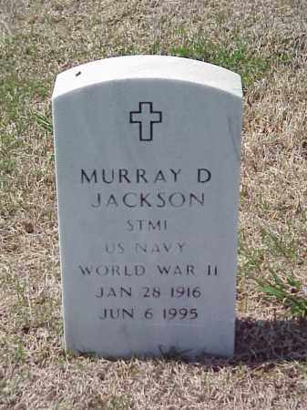 JACKSON (VETERAN WWII), MURRAY D - Pulaski County, Arkansas | MURRAY D JACKSON (VETERAN WWII) - Arkansas Gravestone Photos