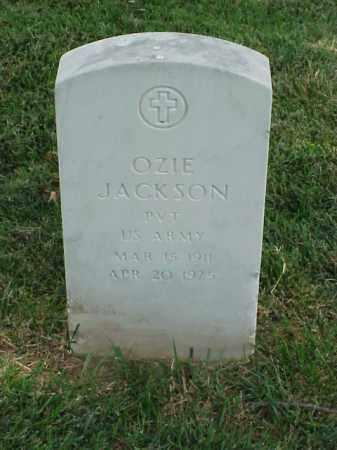 JACKSON (VETERAN WWII), OZIE - Pulaski County, Arkansas | OZIE JACKSON (VETERAN WWII) - Arkansas Gravestone Photos