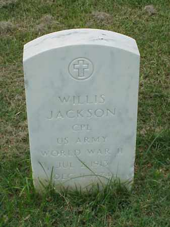 JACKSON (VETERAN WWII), WILLIS - Pulaski County, Arkansas | WILLIS JACKSON (VETERAN WWII) - Arkansas Gravestone Photos