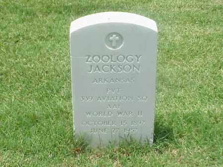 JACKSON (VETERAN WWII), ZOOLOGY - Pulaski County, Arkansas | ZOOLOGY JACKSON (VETERAN WWII) - Arkansas Gravestone Photos