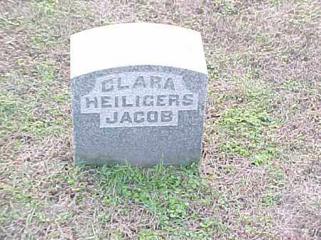 HEILIGERS JACOB, CLARA - Pulaski County, Arkansas | CLARA HEILIGERS JACOB - Arkansas Gravestone Photos