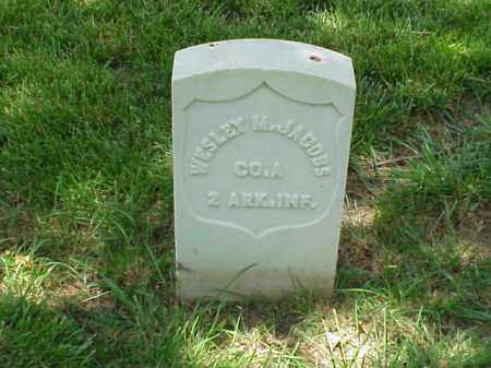 JACOBS (VETERAN UNION), WESLEY M - Pulaski County, Arkansas | WESLEY M JACOBS (VETERAN UNION) - Arkansas Gravestone Photos