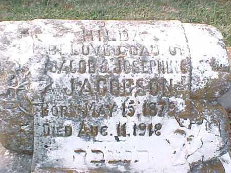 JACOBSON, HILDA (CLOSE UP) - Pulaski County, Arkansas | HILDA (CLOSE UP) JACOBSON - Arkansas Gravestone Photos