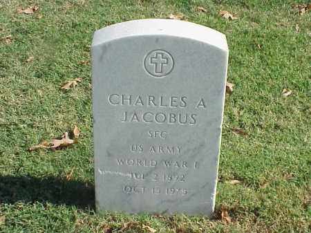 JACOBUS (VETERAN WWI), CHARLES A - Pulaski County, Arkansas | CHARLES A JACOBUS (VETERAN WWI) - Arkansas Gravestone Photos