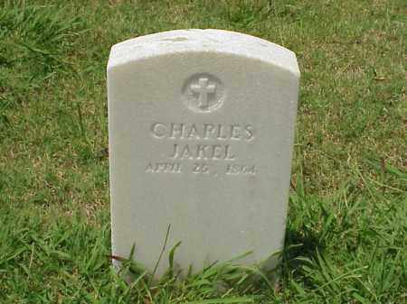 JAKEL (VETERAN UNION), CHARLES - Pulaski County, Arkansas | CHARLES JAKEL (VETERAN UNION) - Arkansas Gravestone Photos
