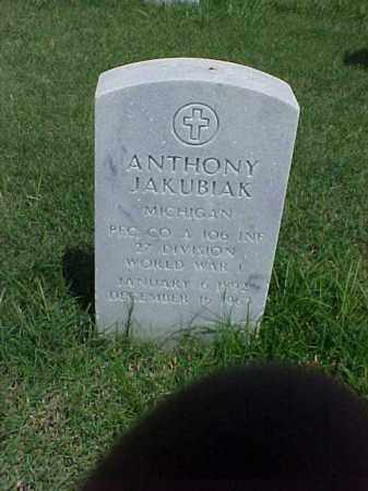 JAKUBIAK (VETERAN WWI), ANTHONY - Pulaski County, Arkansas | ANTHONY JAKUBIAK (VETERAN WWI) - Arkansas Gravestone Photos