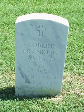 JAMES, JR (VETERAN WWII), ROBERT FRANKLIN - Pulaski County, Arkansas | ROBERT FRANKLIN JAMES, JR (VETERAN WWII) - Arkansas Gravestone Photos