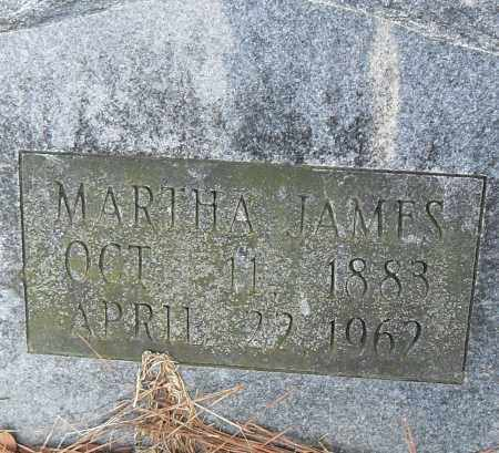 JAMES, MARTHA - Pulaski County, Arkansas | MARTHA JAMES - Arkansas Gravestone Photos