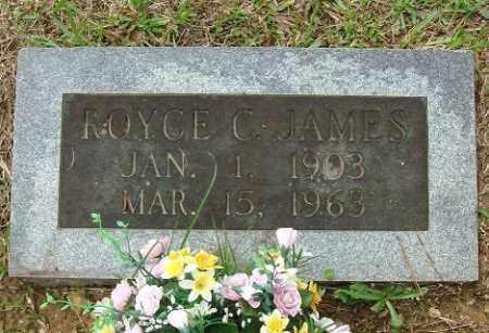 JAMES, ROYCE C. - Pulaski County, Arkansas | ROYCE C. JAMES - Arkansas Gravestone Photos