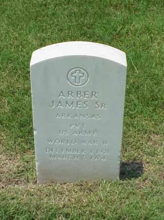 JAMES, SR (VETERAN WWII), ARBER - Pulaski County, Arkansas | ARBER JAMES, SR (VETERAN WWII) - Arkansas Gravestone Photos