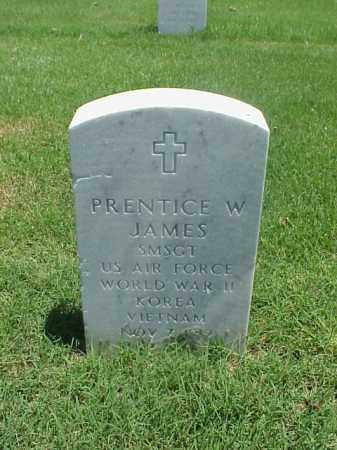 JAMES (VETERAN 3 WARS), PRENTICE W - Pulaski County, Arkansas | PRENTICE W JAMES (VETERAN 3 WARS) - Arkansas Gravestone Photos