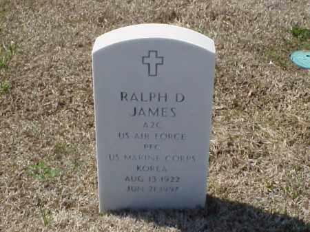 JAMES (VETERAN KOR), RALPH D - Pulaski County, Arkansas | RALPH D JAMES (VETERAN KOR) - Arkansas Gravestone Photos
