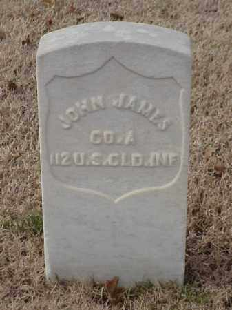 JAMES (VETERAN UNION), JOHN - Pulaski County, Arkansas | JOHN JAMES (VETERAN UNION) - Arkansas Gravestone Photos