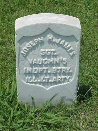 JAMES (VETERAN UNION), JOSEPH H - Pulaski County, Arkansas | JOSEPH H JAMES (VETERAN UNION) - Arkansas Gravestone Photos