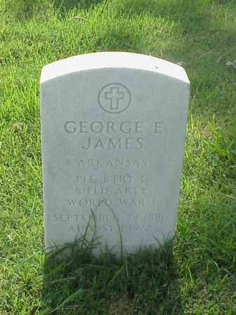 JAMES (VETERAN WWI), GEORGE E - Pulaski County, Arkansas | GEORGE E JAMES (VETERAN WWI) - Arkansas Gravestone Photos