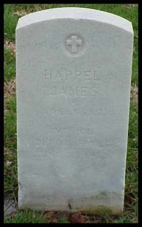 JAMES (VETERAN WWI), HAPPEL - Pulaski County, Arkansas | HAPPEL JAMES (VETERAN WWI) - Arkansas Gravestone Photos