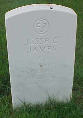 JAMES (VETERAN WWI), JESSE C - Pulaski County, Arkansas | JESSE C JAMES (VETERAN WWI) - Arkansas Gravestone Photos