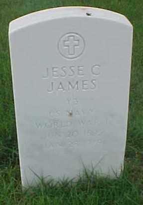 JAMES (VETERAN WWI), JESSE C - Pulaski County, Arkansas | JESSE C JAMES (VETERAN WWI) - Arkansas Gravestone Photos