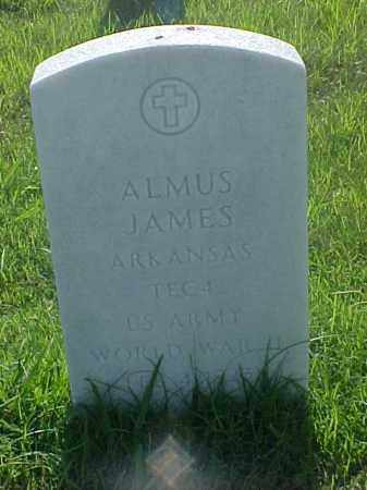 JAMES (VETERAN WWII), ALMUS - Pulaski County, Arkansas | ALMUS JAMES (VETERAN WWII) - Arkansas Gravestone Photos