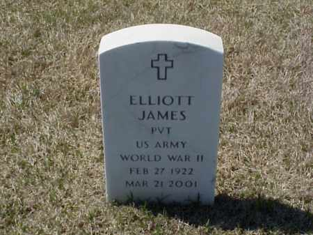 JAMES (VETERAN WWII), ELLIOTT - Pulaski County, Arkansas | ELLIOTT JAMES (VETERAN WWII) - Arkansas Gravestone Photos