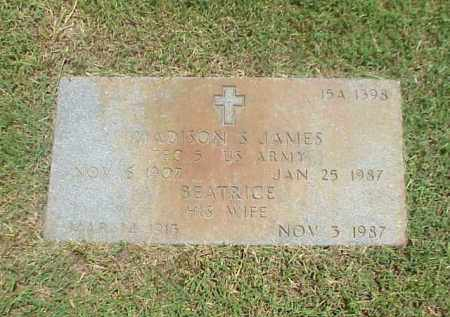 JAMES (VETERAN WWII), MADISON S - Pulaski County, Arkansas | MADISON S JAMES (VETERAN WWII) - Arkansas Gravestone Photos