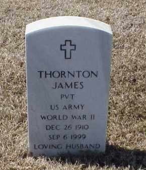 JAMES (VETERAN WWII), THORNTON - Pulaski County, Arkansas | THORNTON JAMES (VETERAN WWII) - Arkansas Gravestone Photos