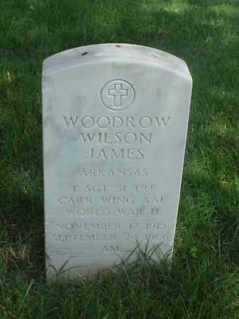 JAMES (VETERAN WWII), WOODROW WILSON - Pulaski County, Arkansas | WOODROW WILSON JAMES (VETERAN WWII) - Arkansas Gravestone Photos