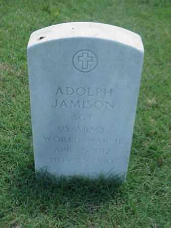 JAMISON (VETERAN WWII), ADOLPH - Pulaski County, Arkansas | ADOLPH JAMISON (VETERAN WWII) - Arkansas Gravestone Photos