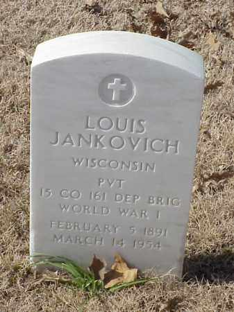 JANKOVICH (VETERAN WWII), LOUIS - Pulaski County, Arkansas | LOUIS JANKOVICH (VETERAN WWII) - Arkansas Gravestone Photos