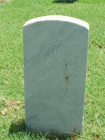 JANUARIO (VETERAN WWII), HOPE O - Pulaski County, Arkansas | HOPE O JANUARIO (VETERAN WWII) - Arkansas Gravestone Photos