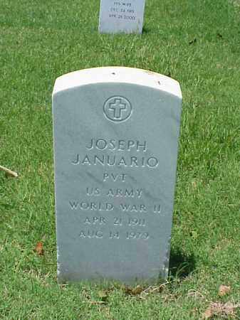 JANUARIO (VETERAN WWII), JOSEPH - Pulaski County, Arkansas | JOSEPH JANUARIO (VETERAN WWII) - Arkansas Gravestone Photos