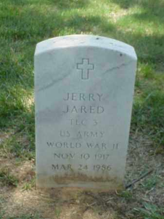 JARED (VETERAN WWII), JERRY - Pulaski County, Arkansas | JERRY JARED (VETERAN WWII) - Arkansas Gravestone Photos