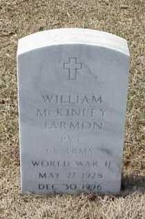 JARMON (VETERAN WWII), WILLIAM MCKINLEY - Pulaski County, Arkansas | WILLIAM MCKINLEY JARMON (VETERAN WWII) - Arkansas Gravestone Photos