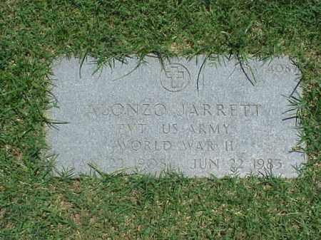 JARRETT (VETERAN WWII), ALONZO - Pulaski County, Arkansas | ALONZO JARRETT (VETERAN WWII) - Arkansas Gravestone Photos
