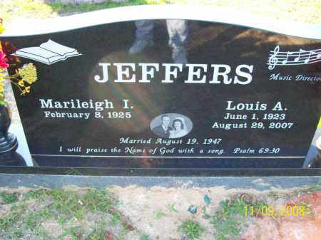 JEFFERS, LOUIS A - Pulaski County, Arkansas | LOUIS A JEFFERS - Arkansas Gravestone Photos