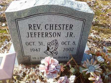 JEFFERSON,  JR , REV, CHESTER - Pulaski County, Arkansas | CHESTER JEFFERSON,  JR , REV - Arkansas Gravestone Photos