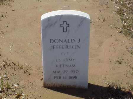 JEFFERSON  (VETERAN VIET), DONALD J - Pulaski County, Arkansas | DONALD J JEFFERSON  (VETERAN VIET) - Arkansas Gravestone Photos