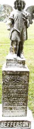 JEFFERSON, JAMMIE LOUISA - Pulaski County, Arkansas | JAMMIE LOUISA JEFFERSON - Arkansas Gravestone Photos