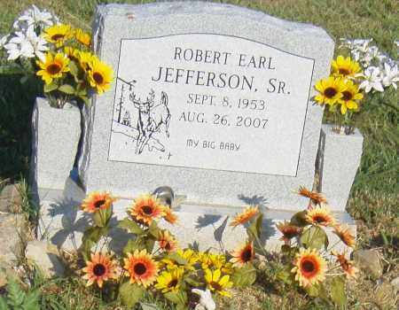 JEFFERSON, SR., ROBERT EARL - Pulaski County, Arkansas | ROBERT EARL JEFFERSON, SR. - Arkansas Gravestone Photos