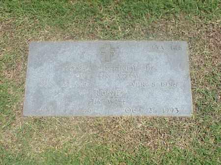JEFFREY, ROSIE - Pulaski County, Arkansas | ROSIE JEFFREY - Arkansas Gravestone Photos