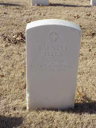 JELKS (VETERAN), EARNEST - Pulaski County, Arkansas | EARNEST JELKS (VETERAN) - Arkansas Gravestone Photos