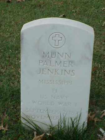 JENKINS  (VETERAN WWI), MUNN PALMER - Pulaski County, Arkansas | MUNN PALMER JENKINS  (VETERAN WWI) - Arkansas Gravestone Photos