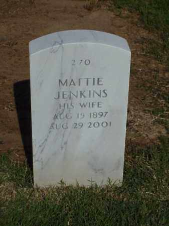 JENKINS, MATTIE - Pulaski County, Arkansas | MATTIE JENKINS - Arkansas Gravestone Photos
