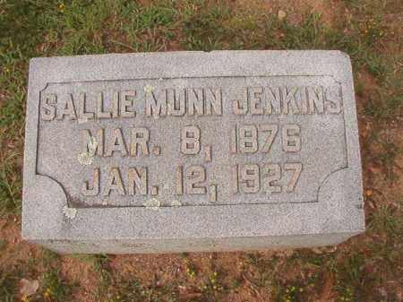 JENKINS, SALLIE - Pulaski County, Arkansas | SALLIE JENKINS - Arkansas Gravestone Photos