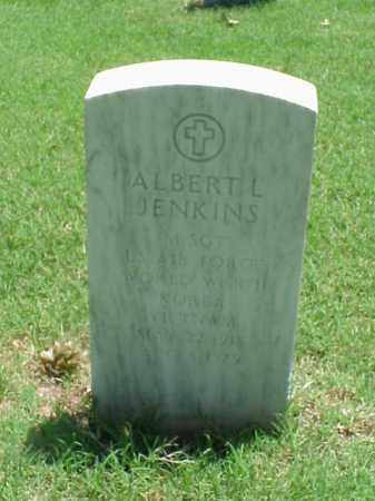JENKINS (VETERAN 2 WARS), ALBERT L - Pulaski County, Arkansas | ALBERT L JENKINS (VETERAN 2 WARS) - Arkansas Gravestone Photos