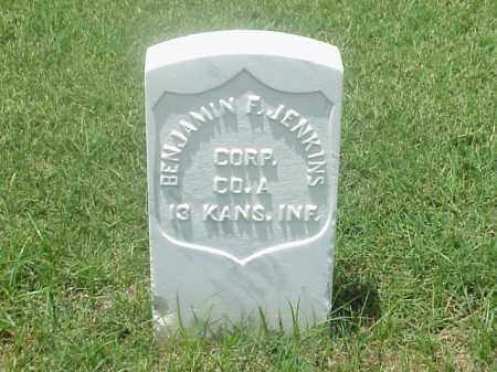 JENKINS (VETERAN UNION), BENJAMIN F - Pulaski County, Arkansas | BENJAMIN F JENKINS (VETERAN UNION) - Arkansas Gravestone Photos