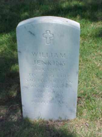 JENKINS (VETERAN WWII), WILLIAM - Pulaski County, Arkansas | WILLIAM JENKINS (VETERAN WWII) - Arkansas Gravestone Photos