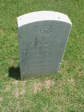 JENNINGS, SR (VETERAN 2 WARS), CECIL G - Pulaski County, Arkansas | CECIL G JENNINGS, SR (VETERAN 2 WARS) - Arkansas Gravestone Photos